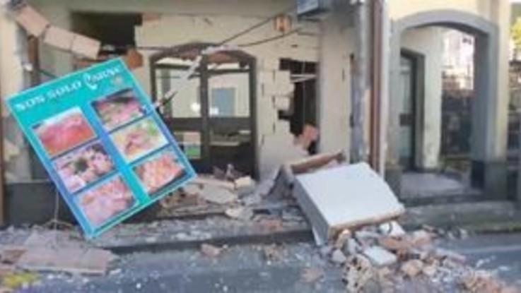 Terremoto Catania, decretato stato di emergenza: subito 10 milioni di euro
