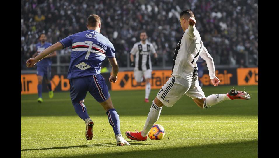 Il gol di Ronaldo ©