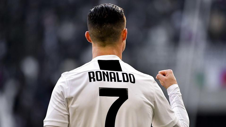 La gioia di Ronaldo ©