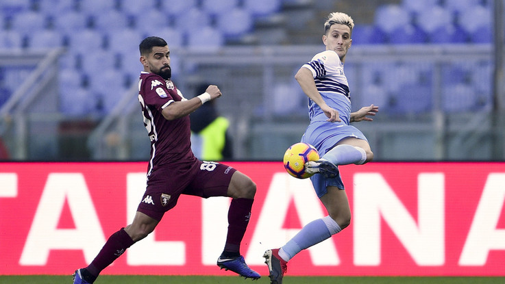 Serie A, Lazio-Torino 1-1 | Il fotoracconto