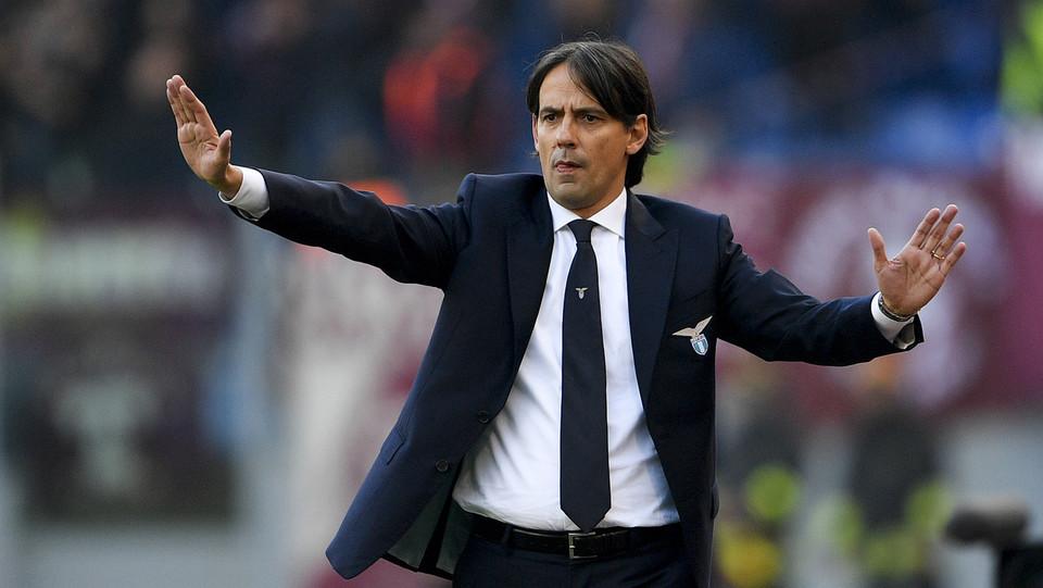 Simone Inzaghi, mister della Lazio ©