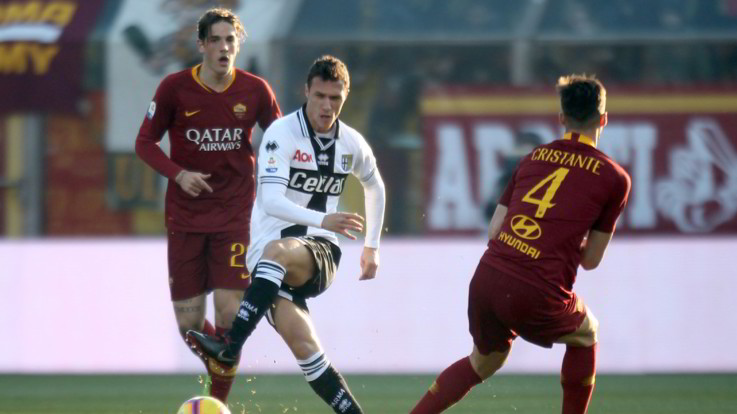 Serie A, Parma-Roma 0-2   Il Fotoracconto