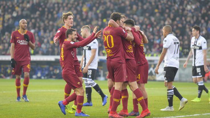 Serie A, Cristante-Under: la Roma piega 2-0 il Parma, la Champions ora è più vicina