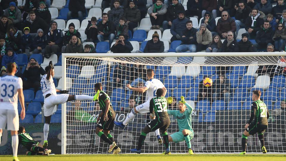 Il gol di Zapata ©