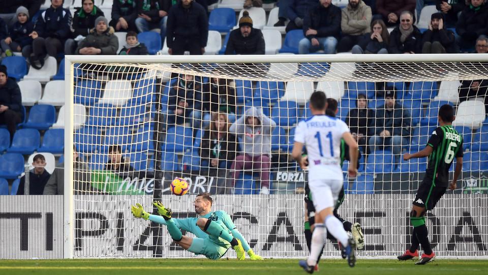 Il gol di Gomez ©