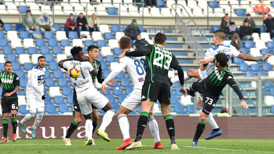Il gol di Mancini ©