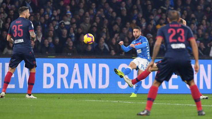 Serie A, Napoli-Bologna 3-2   Il fotoracconto