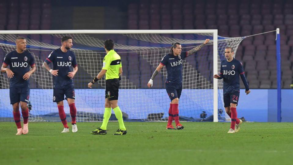 Santander fa 1-1 nel finale di primo tempo ©