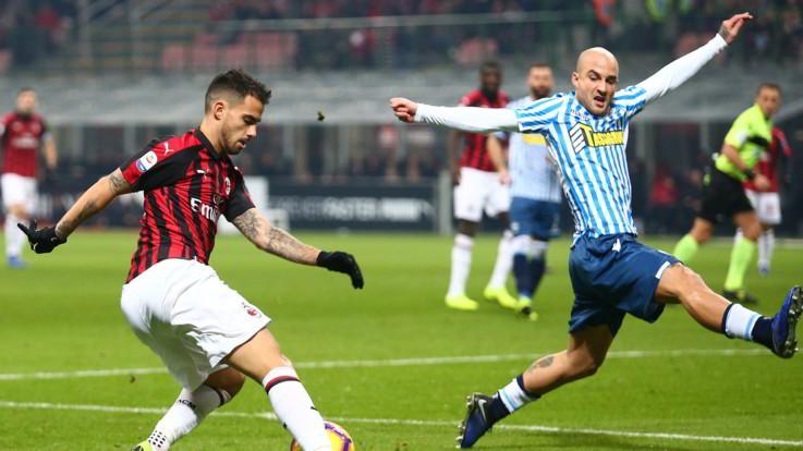 Serie A, Milan-Spal 2-1 | Il Fotoracconto