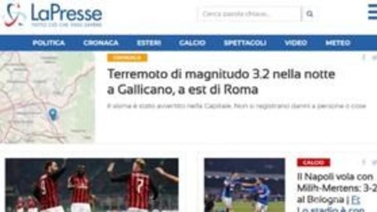 Scosse di terremoto a Roma e Catania