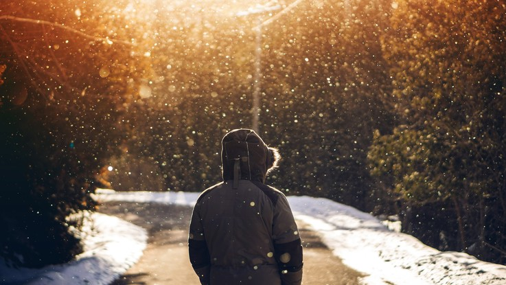 Freddo e neve a bassa quota: il meteo del 31 dicembre e 1 gennaio