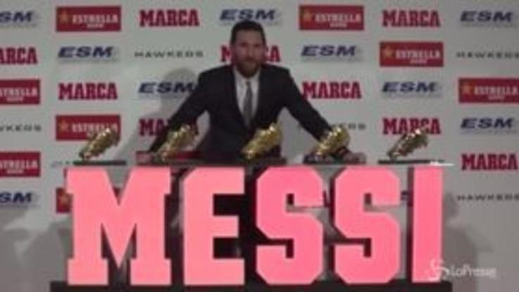 Lionel Messi è il Re del gol del 2018
