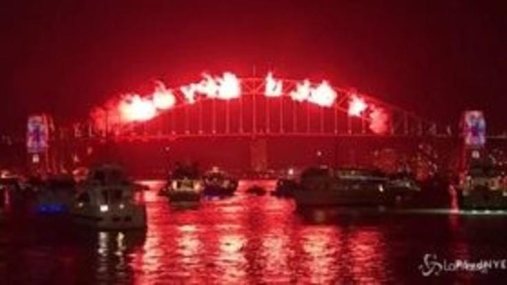Capodanno 2019, i festeggiamenti in Australia