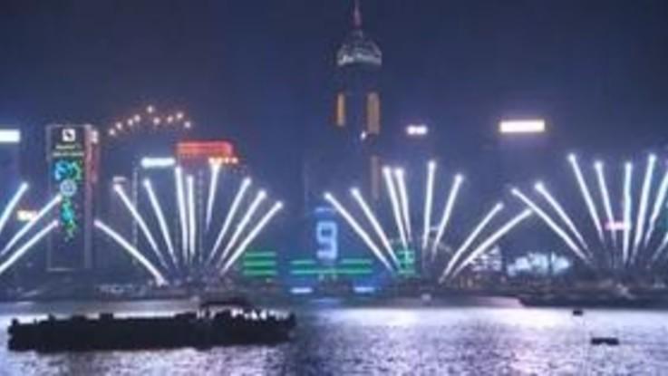 Capodanno 2019, i festeggiamenti a Hong Kong