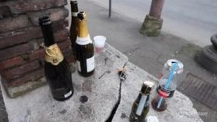 Capodanno a Roma, al lavoro per ripulire la strade