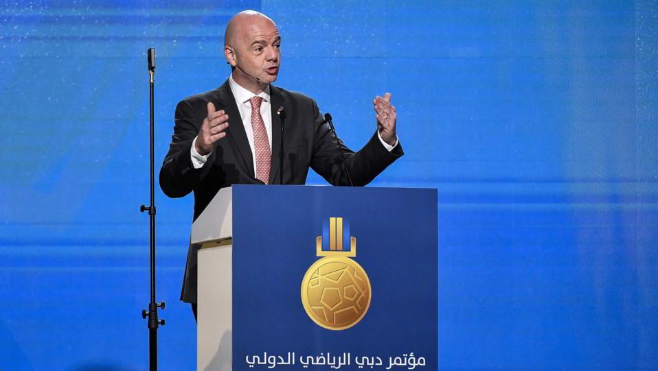 Gianni Infantino Presidente della FIFA ©
