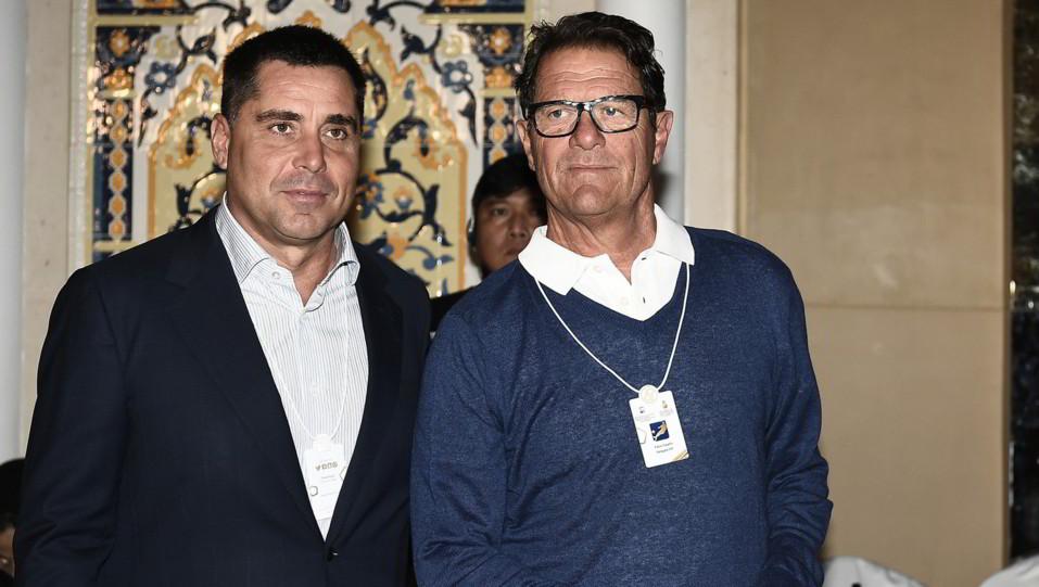 Riccardo Silva, Presidente Globe Soccer, e Fabio Capello ©