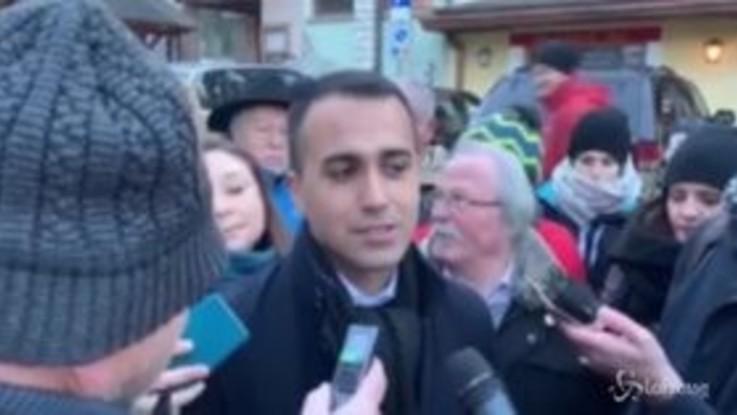 """Sindaci contro il dl sicurezza, Di Maio: """"A sinistra stanno messi male"""""""
