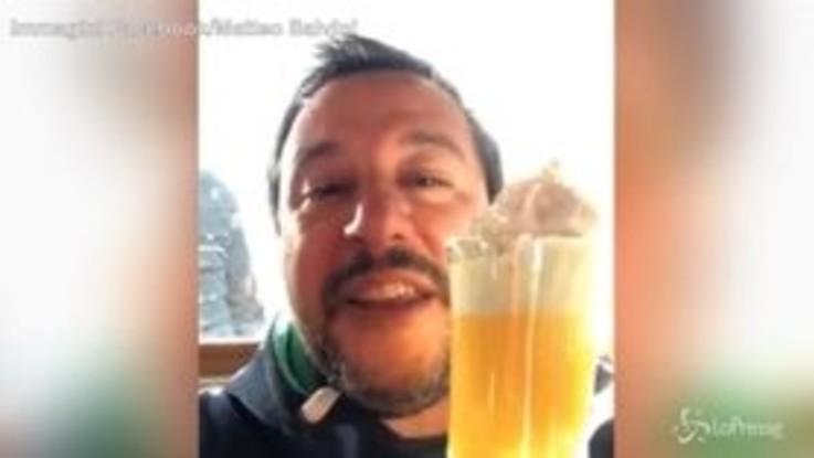 """Sindaci contro dl sicurezza, Salvini: """"O con gli italiani o con i clandestini"""""""