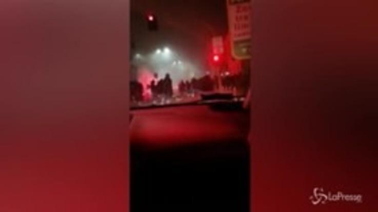 Tifoso ucciso, auto sequestrata a Napoli