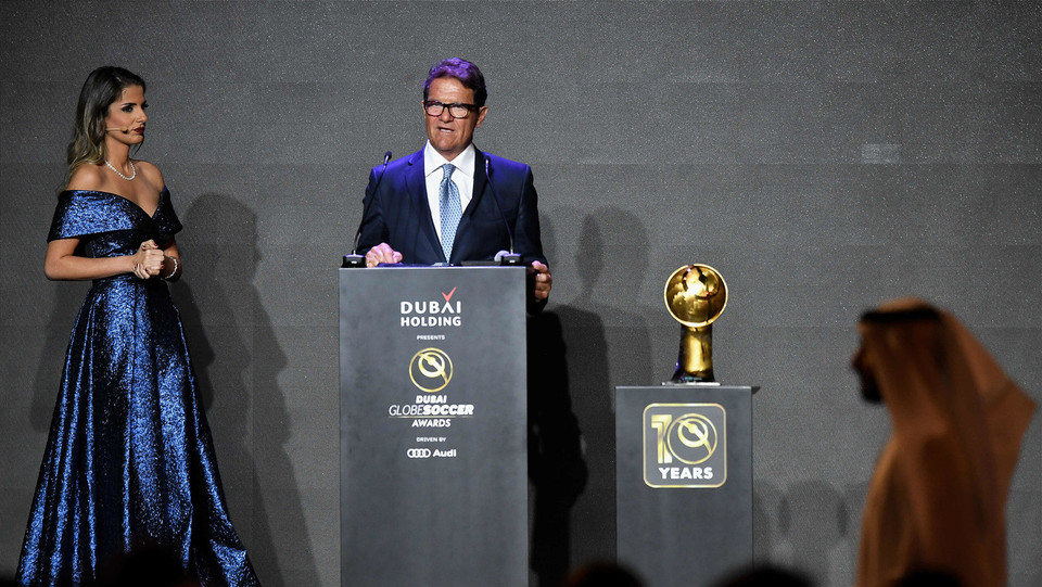 Fabio Capello vince il premio Coach Career Award ©