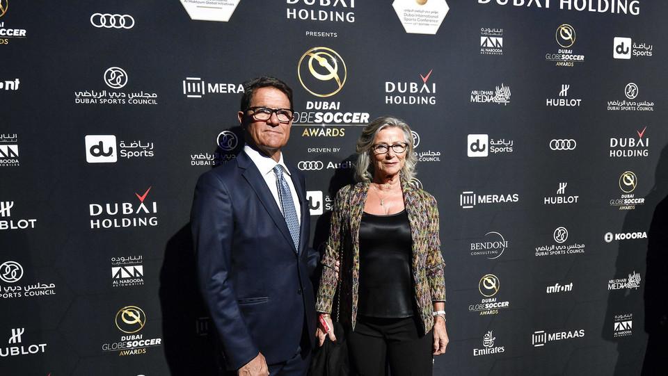 Fabio Capello con la moglie ©