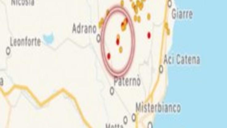 Nuovo sciame sismico nel Catanese, scossa di magnitudo 3.5