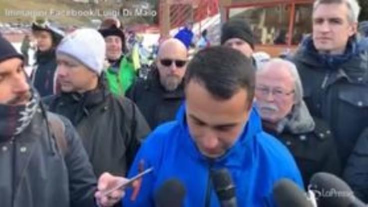 """Sindaci contro dl sicurezza, Di Maio: """"Non hanno autorità per aprire o chiudere porti"""""""