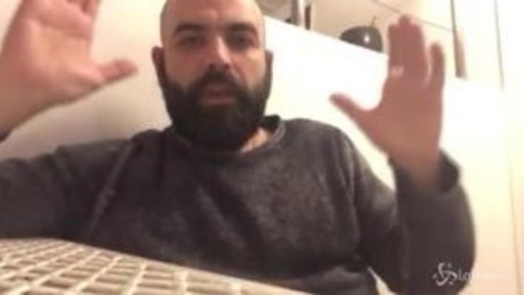 """SeaWatch, Saviano a Salvini: """"Smetti di fare il pagliaccio"""""""