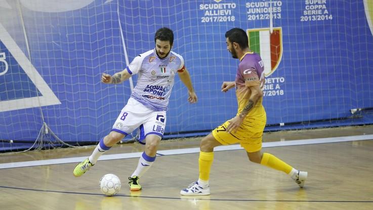 Calcio a 5, Serie A: Civitella – Acqua&Sapone su LaPresse