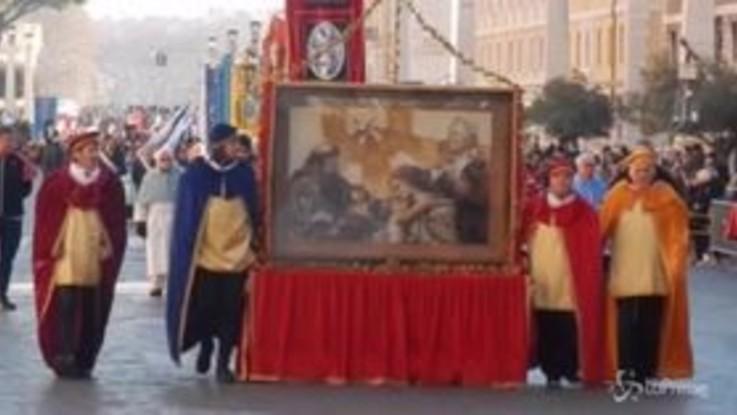 """""""Viva la Befana"""", a Roma il corteo per tramandare i valori dell'Epifania"""