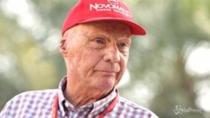 Paura per Niki Lauda, ricoverato ancora in terapia intensiva