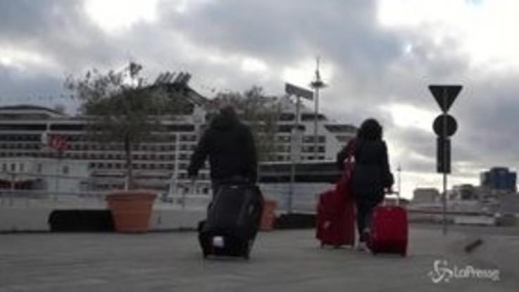 Il giro del mondo in nave: partita da Genova una crociera lunga 4 mesi