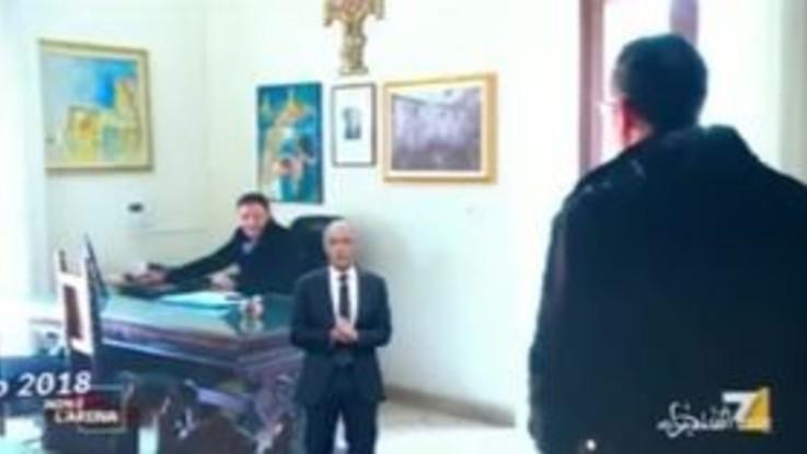 Gli bruciarono l'auto per aver denunciato la mafia: Giletti gliene regala una nuova