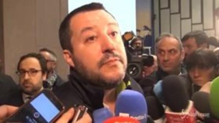 """Salvini: """"Aggressione a giornalisti Espresso? Responsabili in galera"""""""