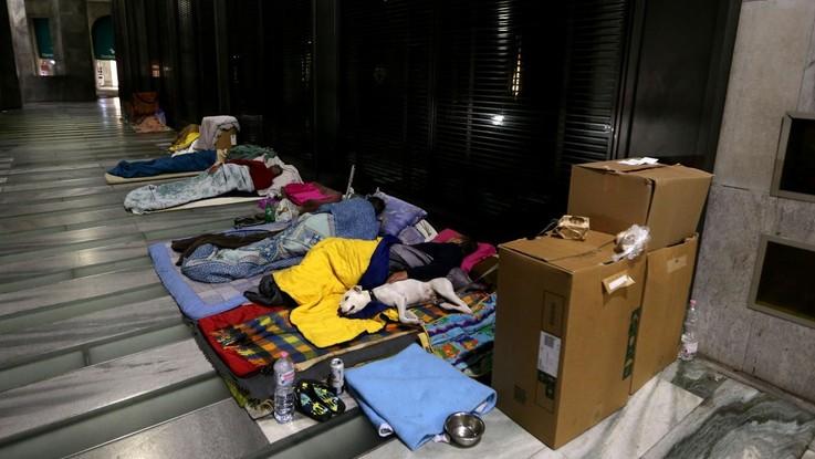 Croce Rossa al lavoro per l'emergenza freddo: posti letti per clochard in tutta Italia