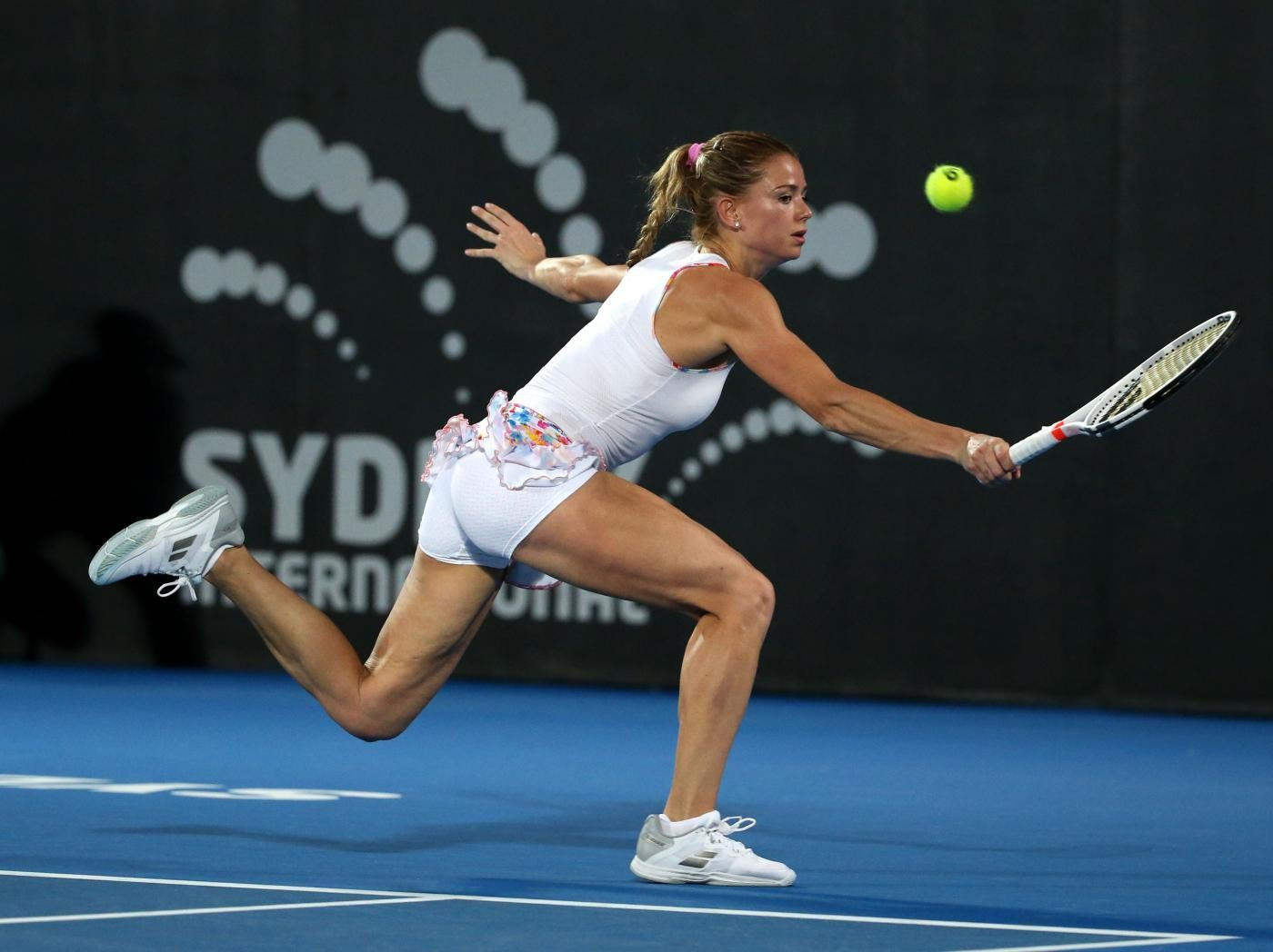 Tennis, Camila Giorgi, si batte ma perde con Angelique Kerber