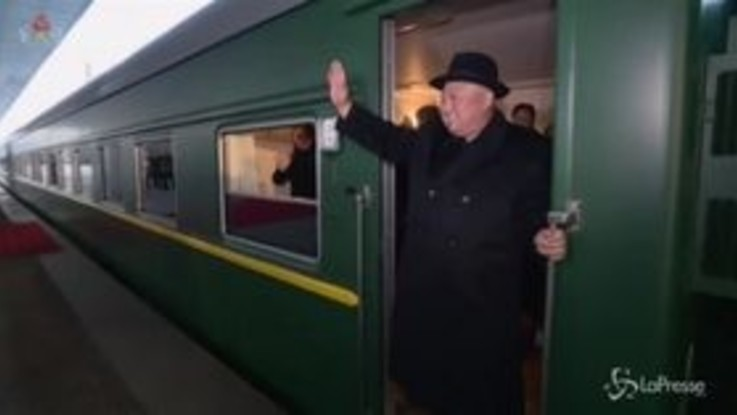 Kim Jong Un in Cina: il treno speciale del leader nordcoreano