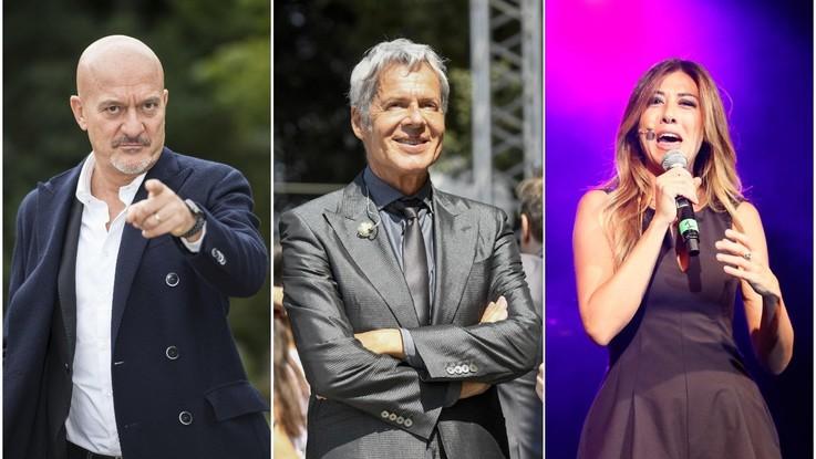 Sanremo, è ufficiale: con Baglioni la coppia Bisio-Raffaele