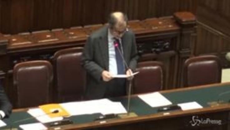 """Salvataggio Carige, Tria: """"La nazionalizzazione sarebbe temporanea"""""""