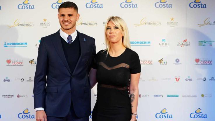 """Icardi sta con Wanda Nara: """"Sarà lei il mio agente per tutta la carriera. L'Inter? Aspetto l'offerta corretta"""""""