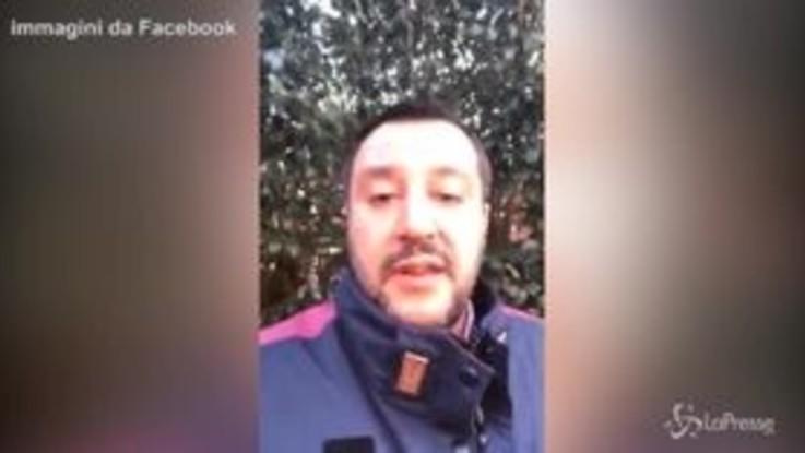 """Salvini: """"Fazio? Guadagna in un mese quello che io guadagno in un anno"""""""
