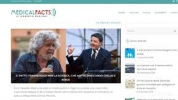Vaccini, la svolta pro-scienza unisce i nemici Grillo e Renzi