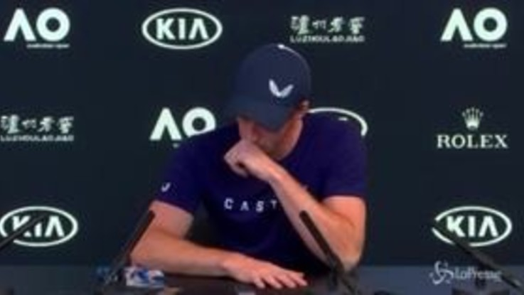 Tennis: Andy Murray si ritira, l'annuncio choc tra le lacrime