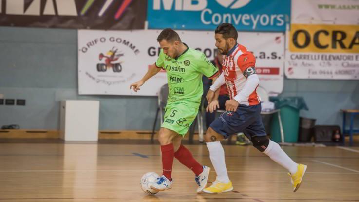 Calcio a 5, Serie A: Maritime e Rieti in diretta su LaPresse