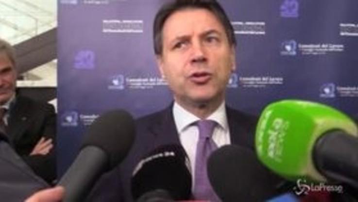 """Trivelle, Conte: """"Sensibilità comune del governo per rivedere le concessioni"""""""