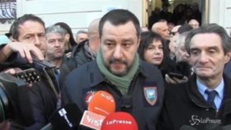 """Salvini: """"La cannabis regolarizzata? Mai"""""""