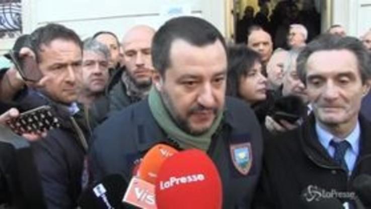 """Tav, Salvini: """"Se il popolo si muove va ascoltato. Il referendum? Un'ipotesi legittima"""""""