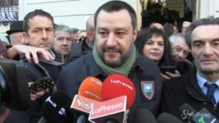 """Migranti, Salvini scherza: """"Maionchi d'accordo con Baglioni? Mi mette in difficoltà"""""""