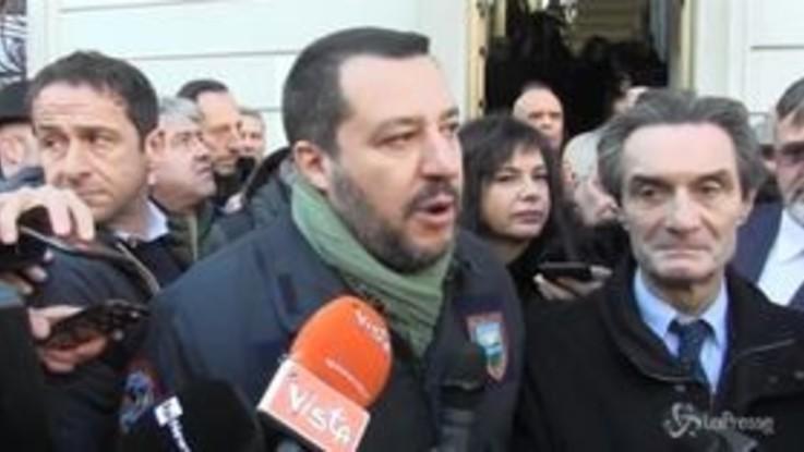 """Salvini ironizza: """"La Camusso? Se mi chiama per inaugurare altri sindacati sono pronto"""""""